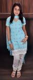 Fille dans le procès de punjabi Photo stock
