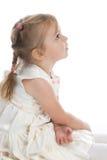 Fille dans une belle robe Images libres de droits