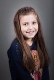 fille de 8 ans photo libre de droits