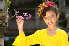Fille de Bali Photo stock