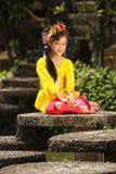 Fille de Bali Photos libres de droits