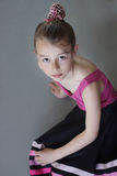 Fille de ballerine Photo stock