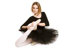 Fille de ballet images libres de droits