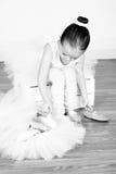 Fille de ballet Image libre de droits