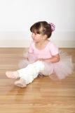 Fille de ballet Image stock