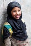 Fille de Balti, Inde Image stock