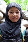Fille de Balti, Inde Image libre de droits