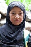 Fille de Balti, Inde Photos libres de droits