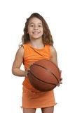 Fille de basket-ball Image stock
