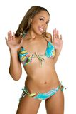 Fille de bikini photo libre de droits