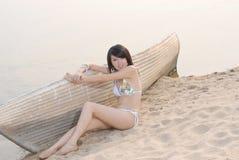 fille de bikini Photographie stock libre de droits