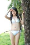 fille de bikini Images libres de droits