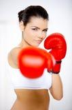 fille de boxe image libre de droits