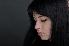 Fille de Brunette photos libres de droits