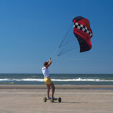 Fille de cerf-volant Image libre de droits