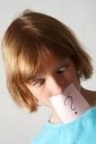 Fille de collants Photographie stock libre de droits