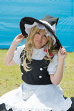 Fille de Cosplay Photo libre de droits