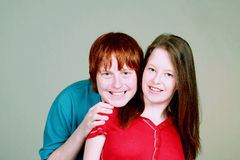 fille de couples de garçon étrange Photographie stock libre de droits