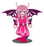 Fille de démon Image stock