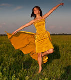 Fille de danse Image libre de droits