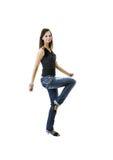 Fille de danse Images libres de droits