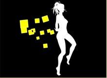 Fille de danse Images stock
