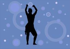Fille de danse illustration libre de droits