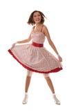 fille de danse asiatique image libre de droits