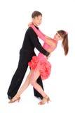fille de danse de danse de garçon de salle de bal photo stock