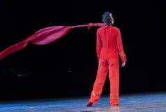Fille de danse moderne Photo libre de droits