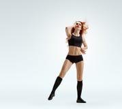 Fille de danseur émotive photographie stock libre de droits