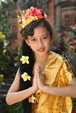 Fille de danseur de Bali Photo libre de droits