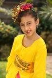 Fille de danseur de Bali Images libres de droits