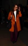 Fille de dimanche la nuit de la mode de mode à l'extérieur Photo libre de droits