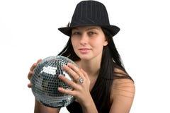 Fille de disco images stock
