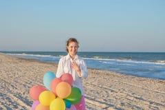 Fille de dix-sept ans avec la trisomie 21 Image libre de droits