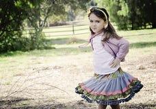 Fille de fillette Images libres de droits