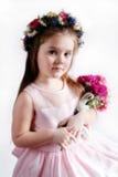 Fille de fleur Photographie stock