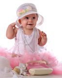 Fille de Girly images stock