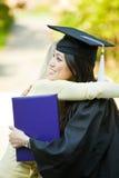 Fille de graduation Photos libres de droits