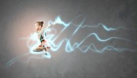 Fille de gymnaste Photo stock