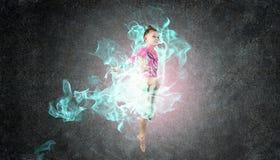 Fille de gymnaste Photographie stock