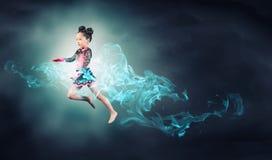Fille de gymnaste Photos libres de droits