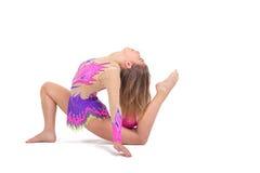 Fille de gymnaste Images stock