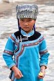 Fille de Hani, Chine Photos libres de droits