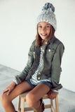 Fille de hippie de mode Photo stock