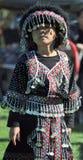 Fille de Hmong dans le costume photos libres de droits