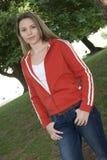Fille de l'adolescence Photo stock