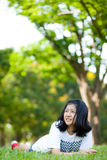 Fille de l'adolescence asiatique. Images stock