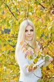Fille de l'adolescence blonde photographie stock libre de droits